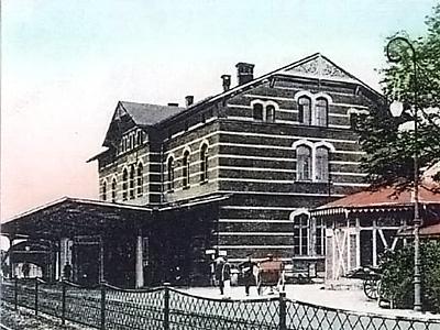 Bahnhof Letmathe um 1910