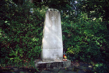 Ehrenmal für russische Kriegsgefangene - katholischer Friedhof Letmathe