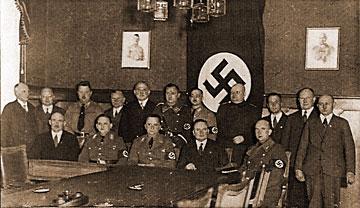 Einführung und Vereidigung des Gemeinderates Letmathe am 8. Febr. 1935