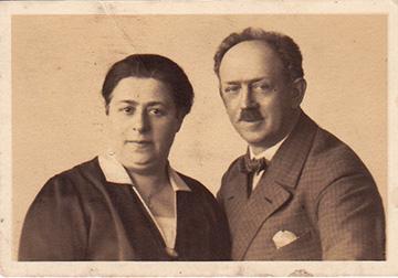 Cäcilie und Julius Meyberg