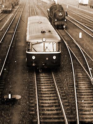 Schienenbus Typ VT98
