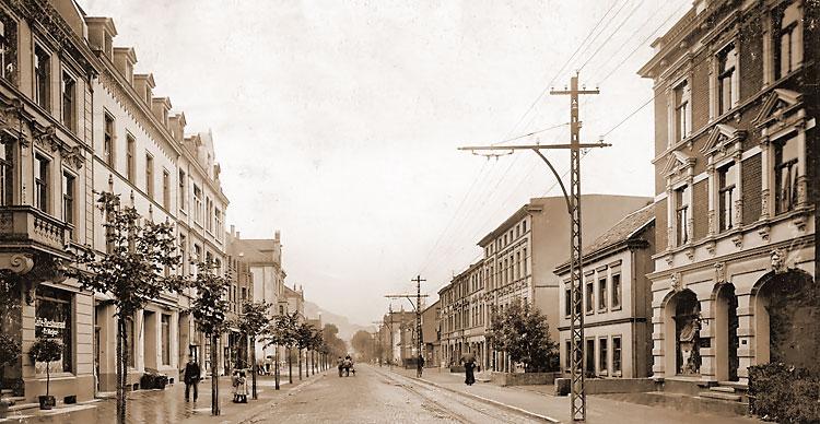 Historisches Foto Hagener_Straße