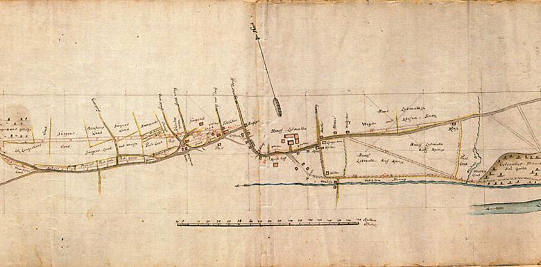 Historische Karte Hagener Straße